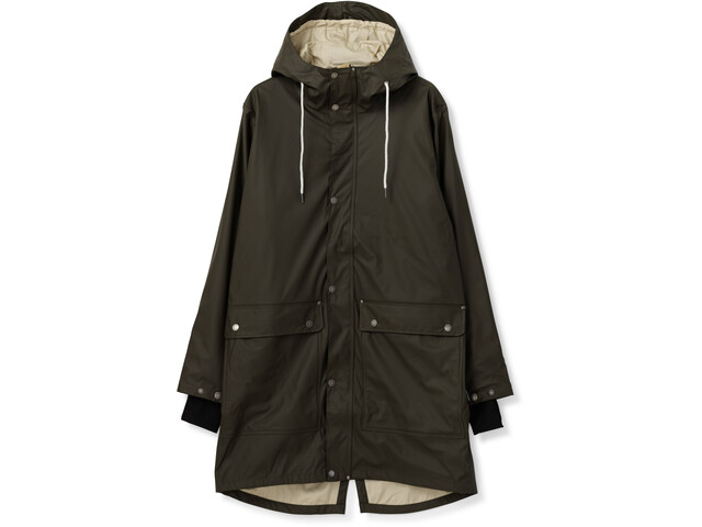 Tretorn Evald 2.0 Raincoat Herre Black Olive